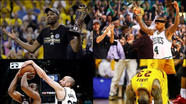 Ranking The Top 5 Moments From The 2017 NBA Playoffs