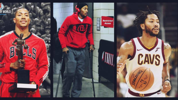 Derrick Rose: From MVP To Out Of The League In Less Than 7 Years