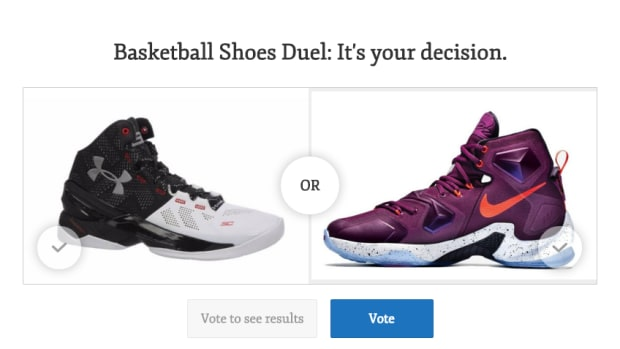 Under Armour Curry 2 vs Nike LeBron XIII