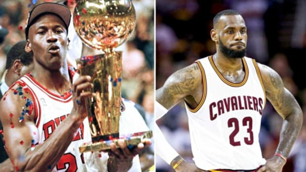 Michael Jordan vs. LeBron James
