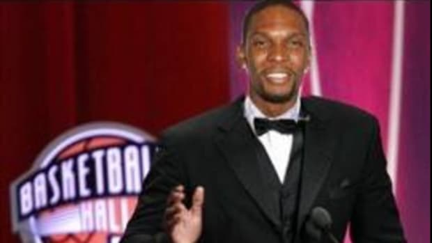 Chris Bosh Hall of Famer