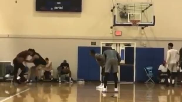 Carmelo Anthony And Kyrie Irving Demolishing The Competition At UCLA