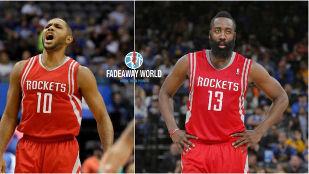 James Harden Eric Gordon