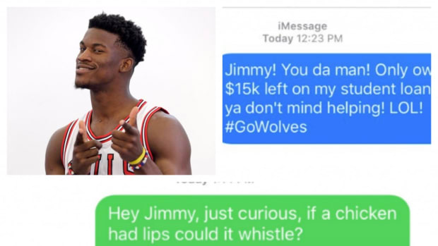 Fans Are Now Bombarding Jimmy Butler With Priceless Texts