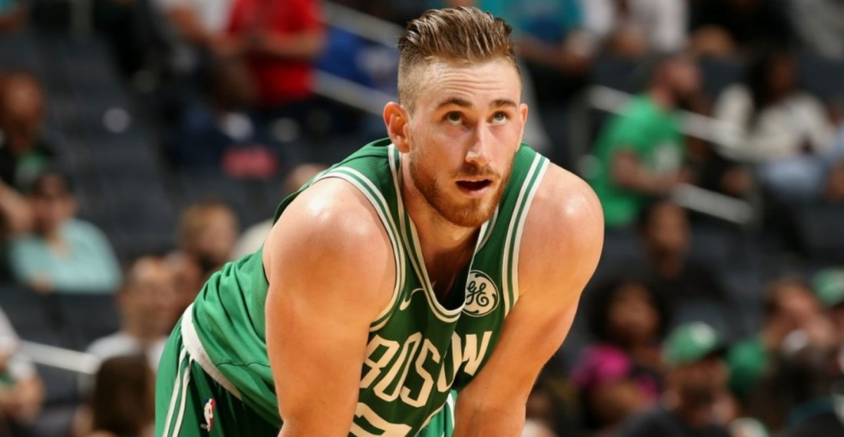 Gordon Hayward posted video of himself dribbling, taking stationary jumpers
