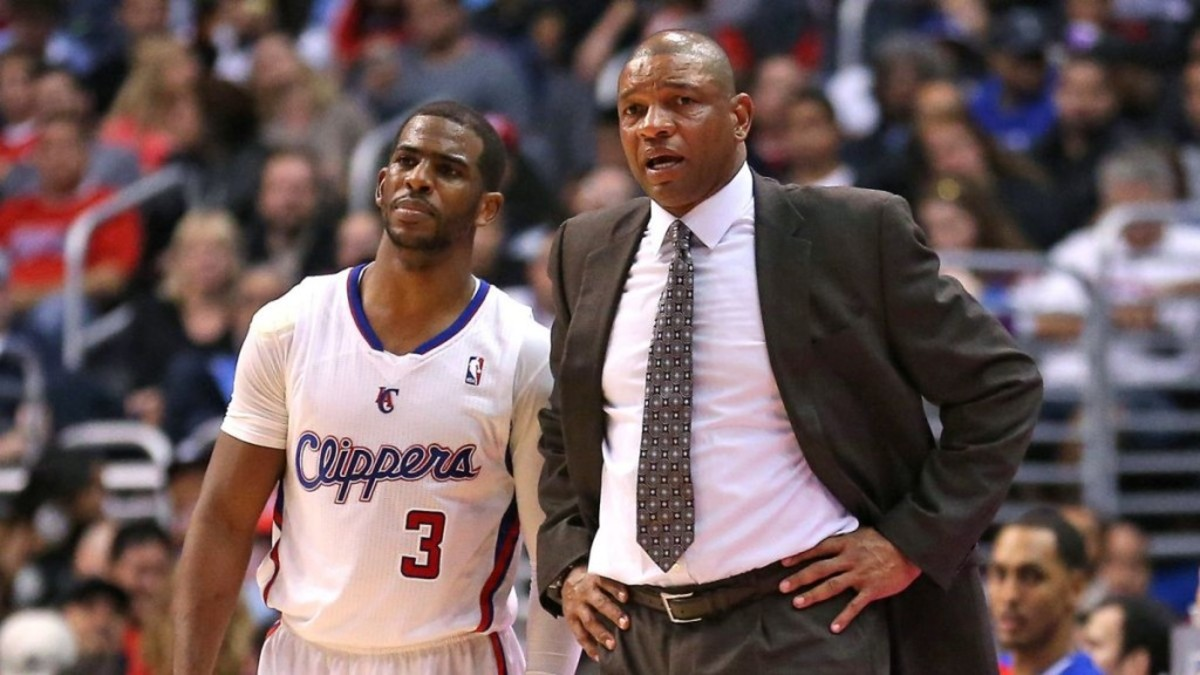 Chris Paul and Doc Rivers
