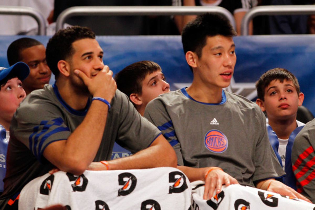Jeremy Lin and Landry Fields