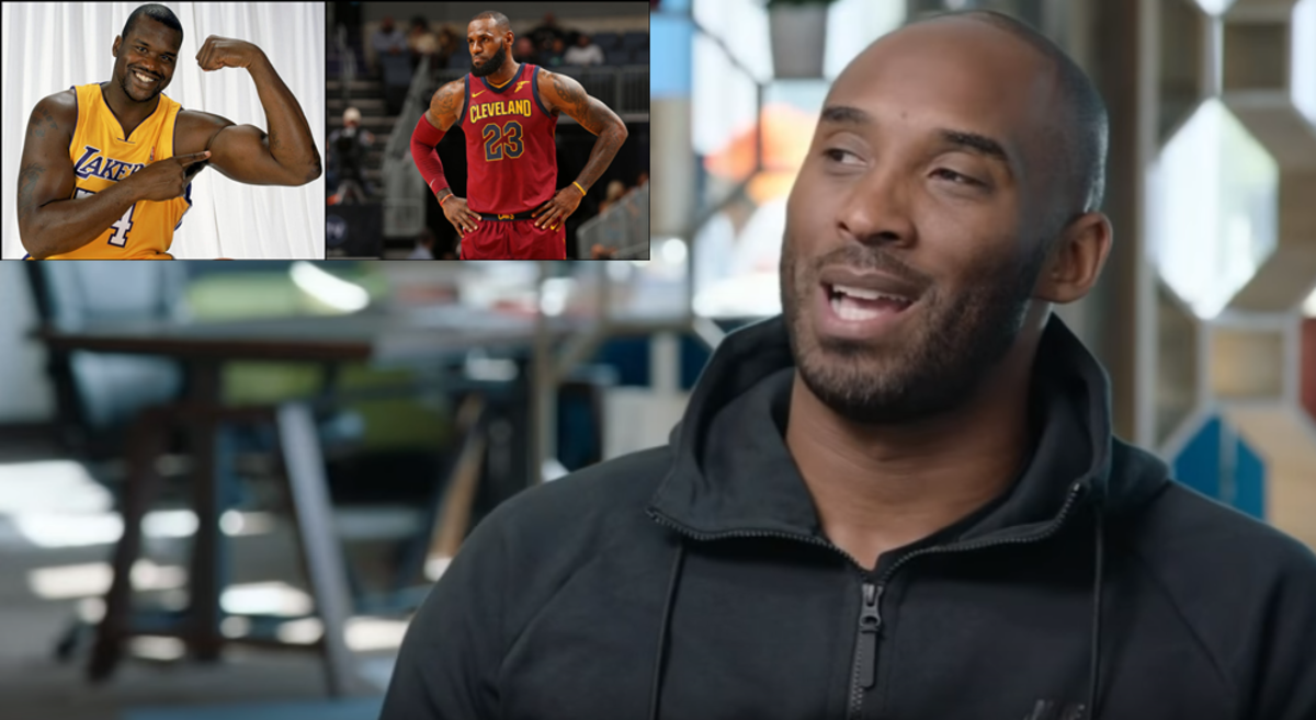 Kobe Bryant Chooses Between LeBron James And Shaquille O'Neal In The All Star Draft
