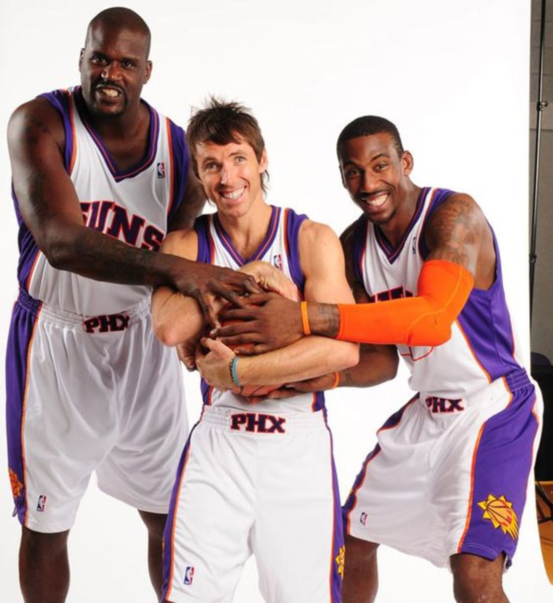 Steve Nash Shaquille O'Neal Amar'e Stoudemire