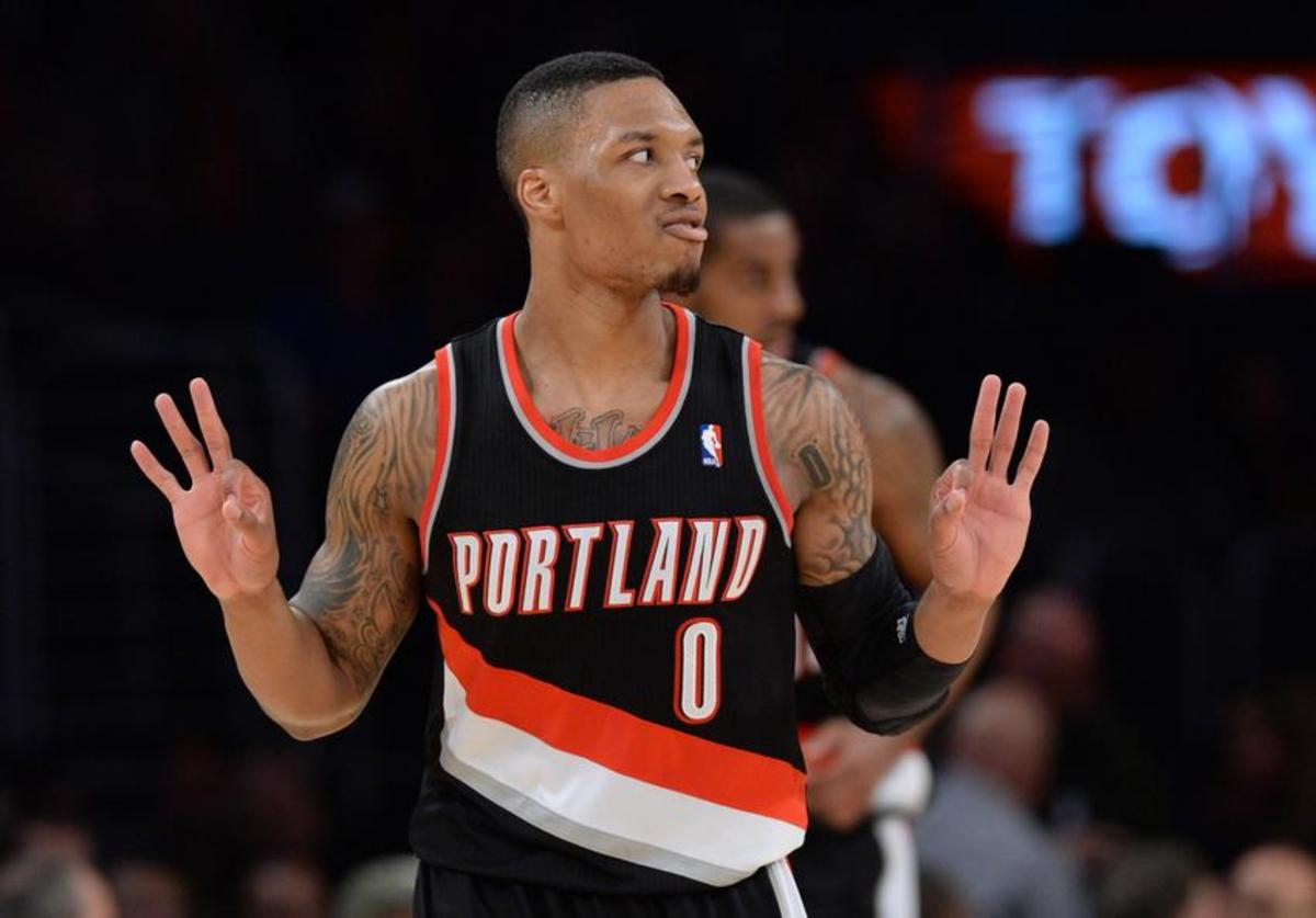 damian-lillard-nba-portland-trail-blazers-los-angeles-lakers