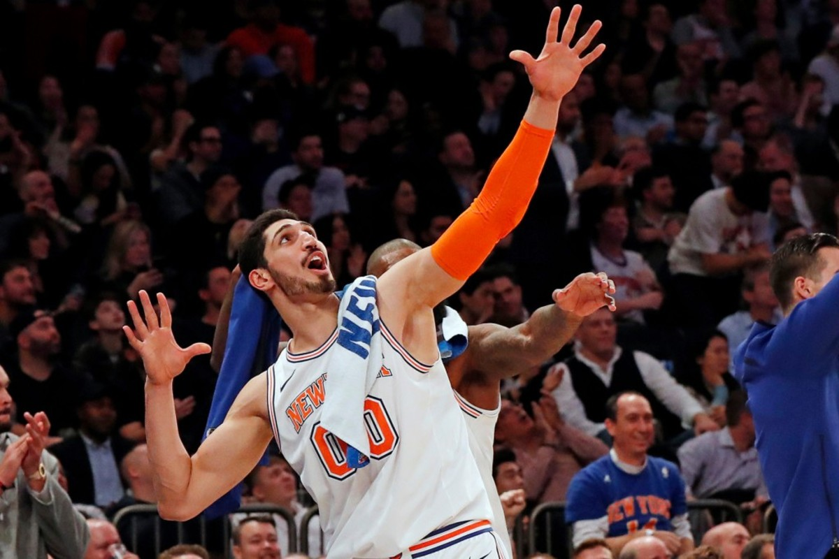 Enes Kanter, Knicks Center, Faces Jail Time In Turkey For Insulting Leader