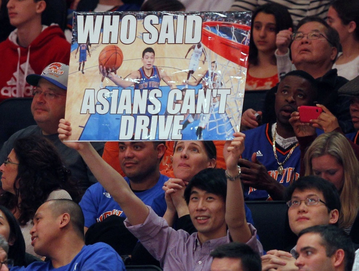 Funny basketball fan signs