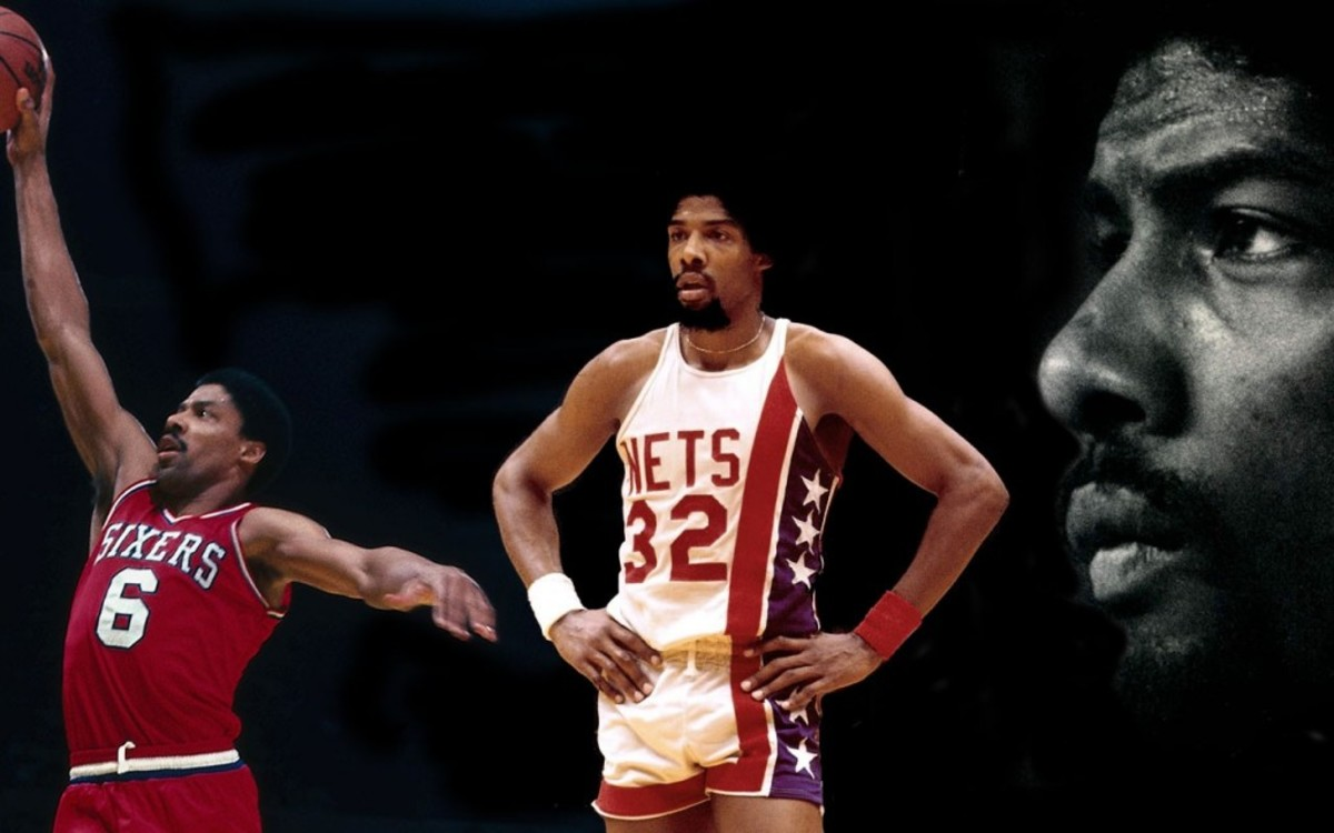 Dr. J - New Jersey Nets