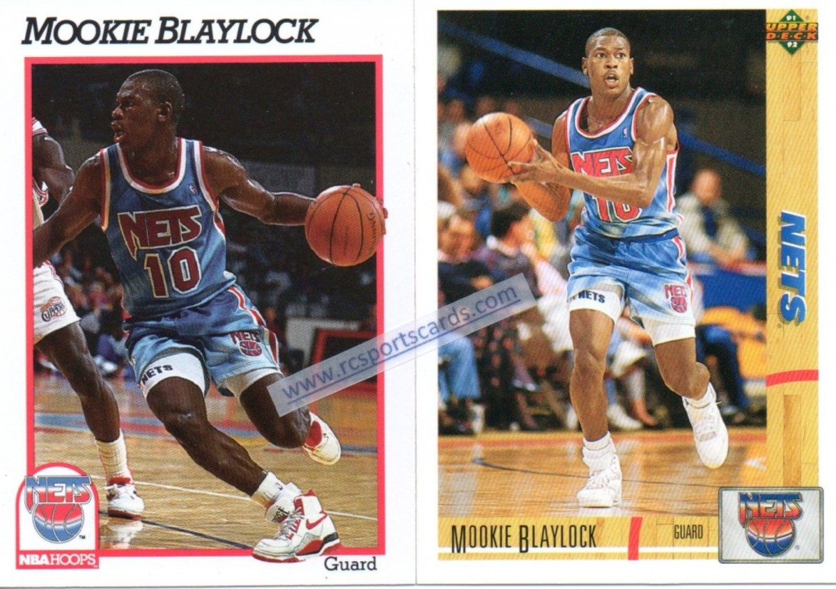Mookie Blaylock New Jersey Nets