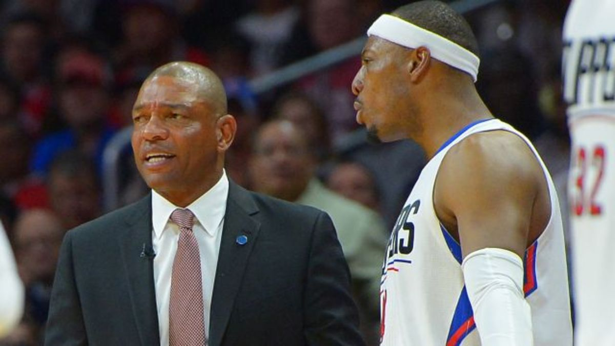 Doc Rivers and Paul Pierce in Clippers