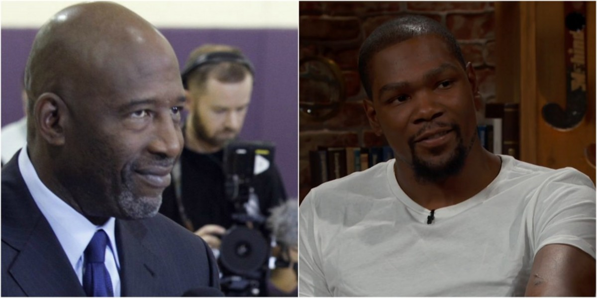 Kevin Durant: James Worthy did 'some shady s— to me'