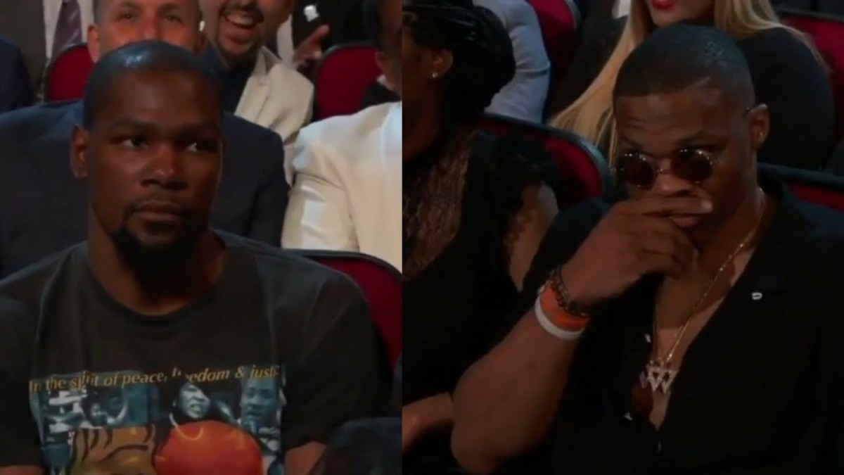 VIDEO: Kevin Durant And Russell Westbrook Pissed At Peyton Manning Joke