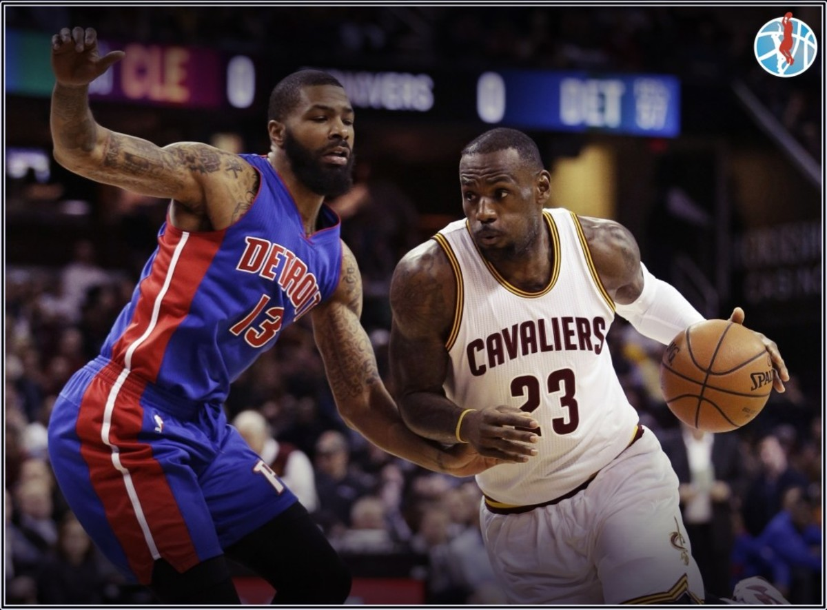 Cavaliers vs. Pistons NBA Playoffs 2016