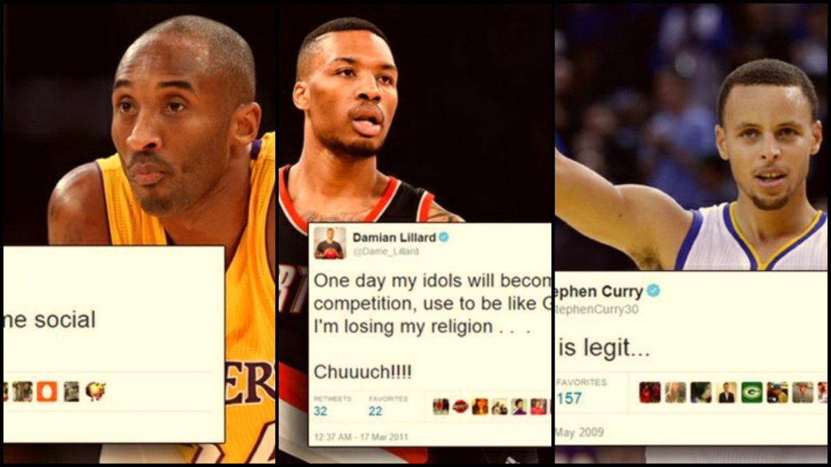 Top 27 Most Priceless NBA Player First Tweets