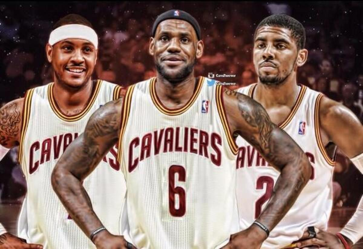 Carmelo Anthony Cleveland Cavaliers