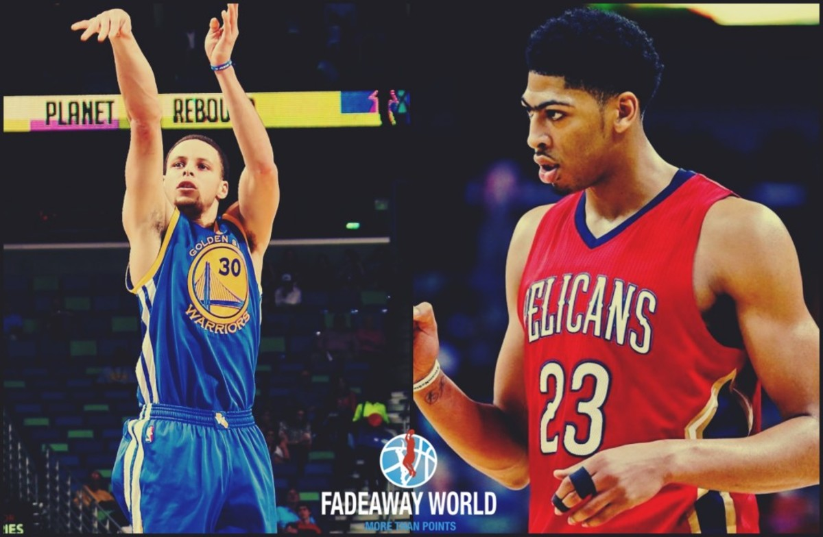Stephen Curry and Anthony Davis
