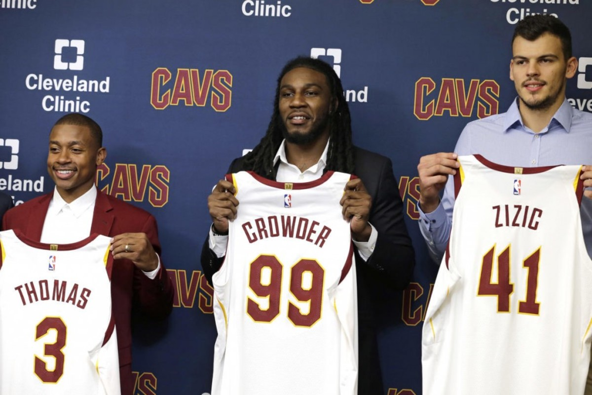 fc3a22fa1330 LeBron James Sent Excited Text To Isaiah Thomas And Jae Crowder After  Completion Of Trade
