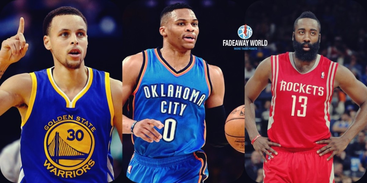 Comparing 2015-2016 Steph Curry to 2016-2017 James Harden and Russell Westbrook 1