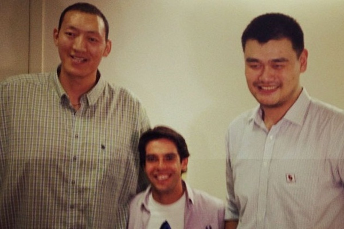 The Story Of A Basketball Giant Who Is Taller Than Yao Ming