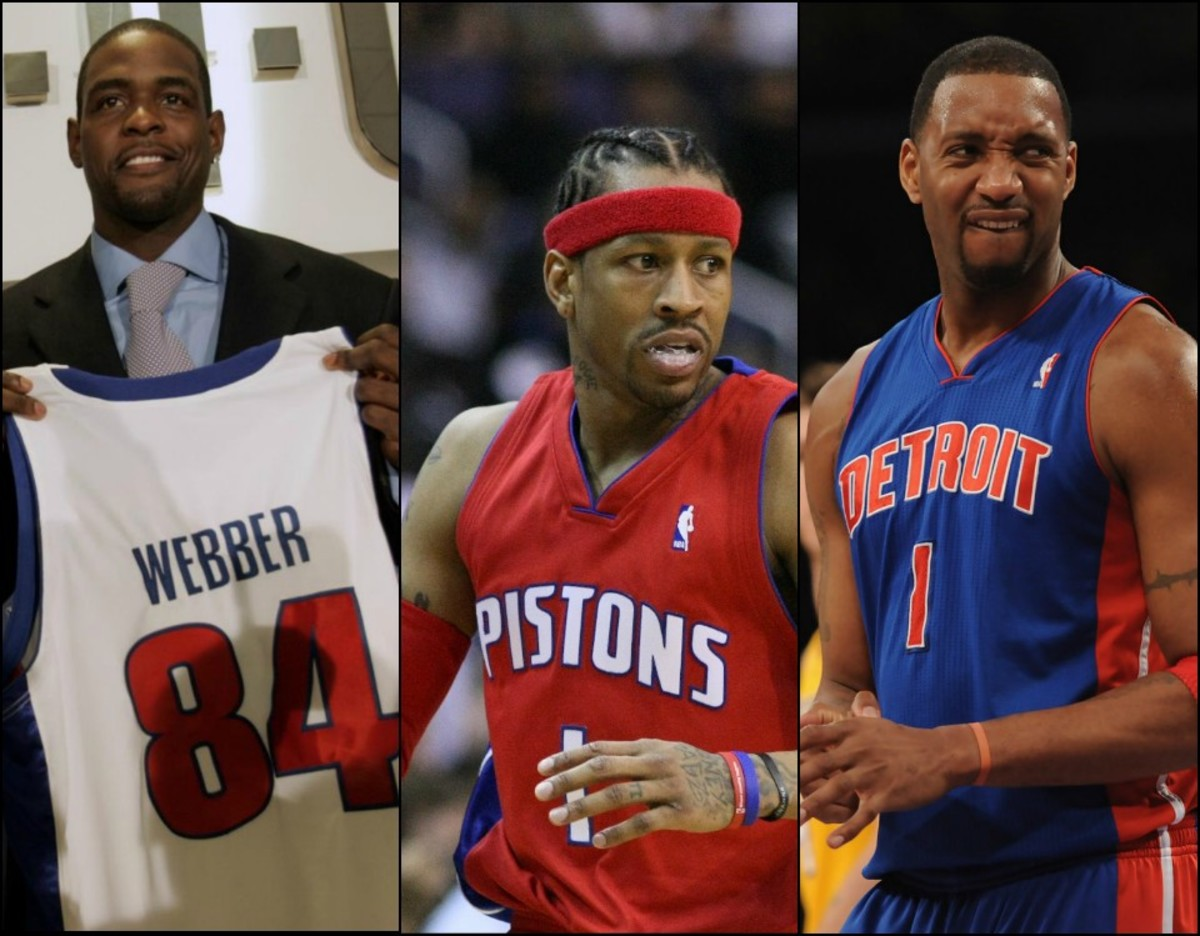 Top 10 NBA Players You Forgot Played For The Detroit Pistons