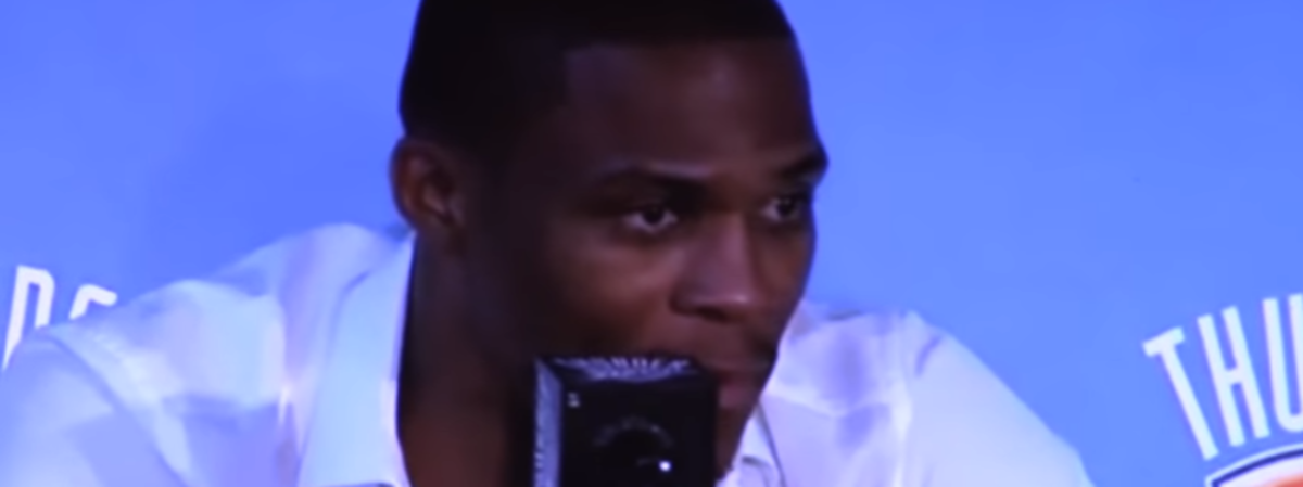 Rusell Westbrook Reacts To Kevin Durant Joining The Golden State