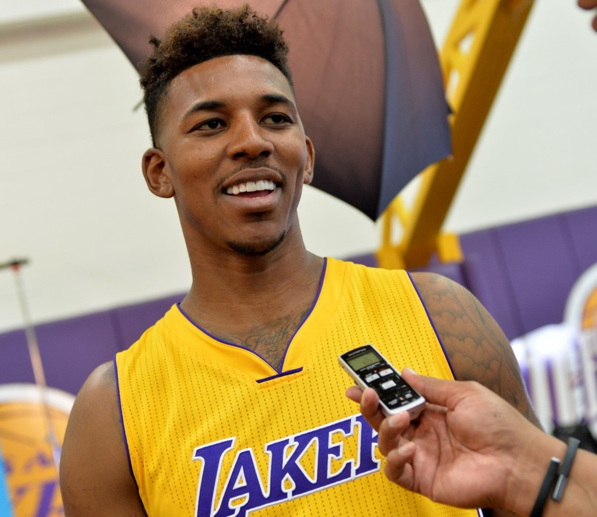 Nick Young is an NBA athlete who currently plays as a shooting guard for the Los Angeles Lakers He has gained traction for his style of shooting over passing as well
