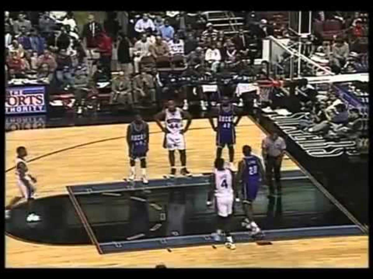 Rare: Allen Iverson's FIRST NBA