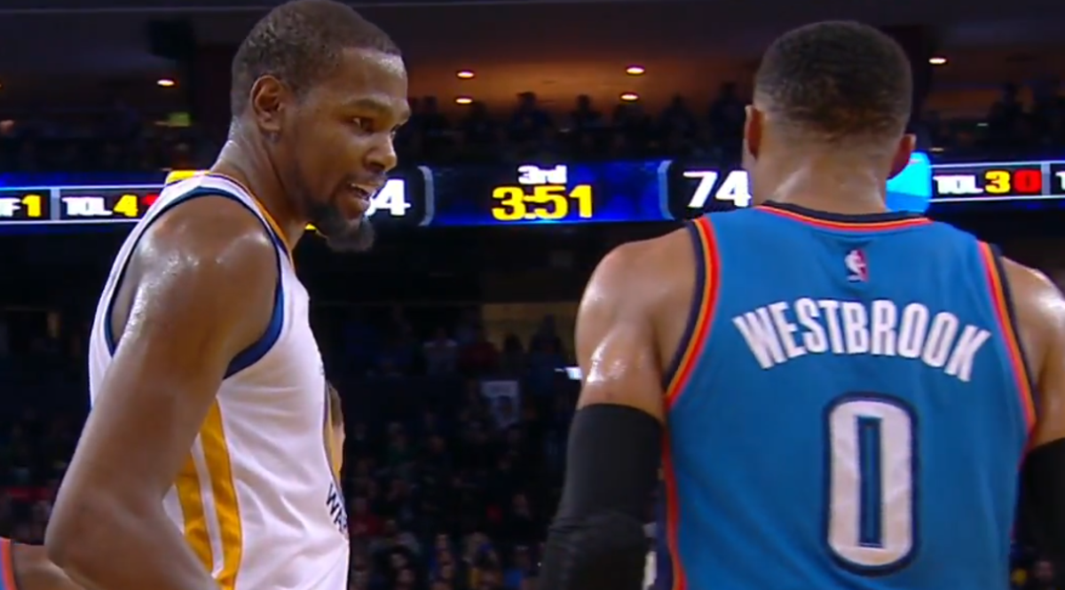 Kevin Durant-Russell Westbrook Feud