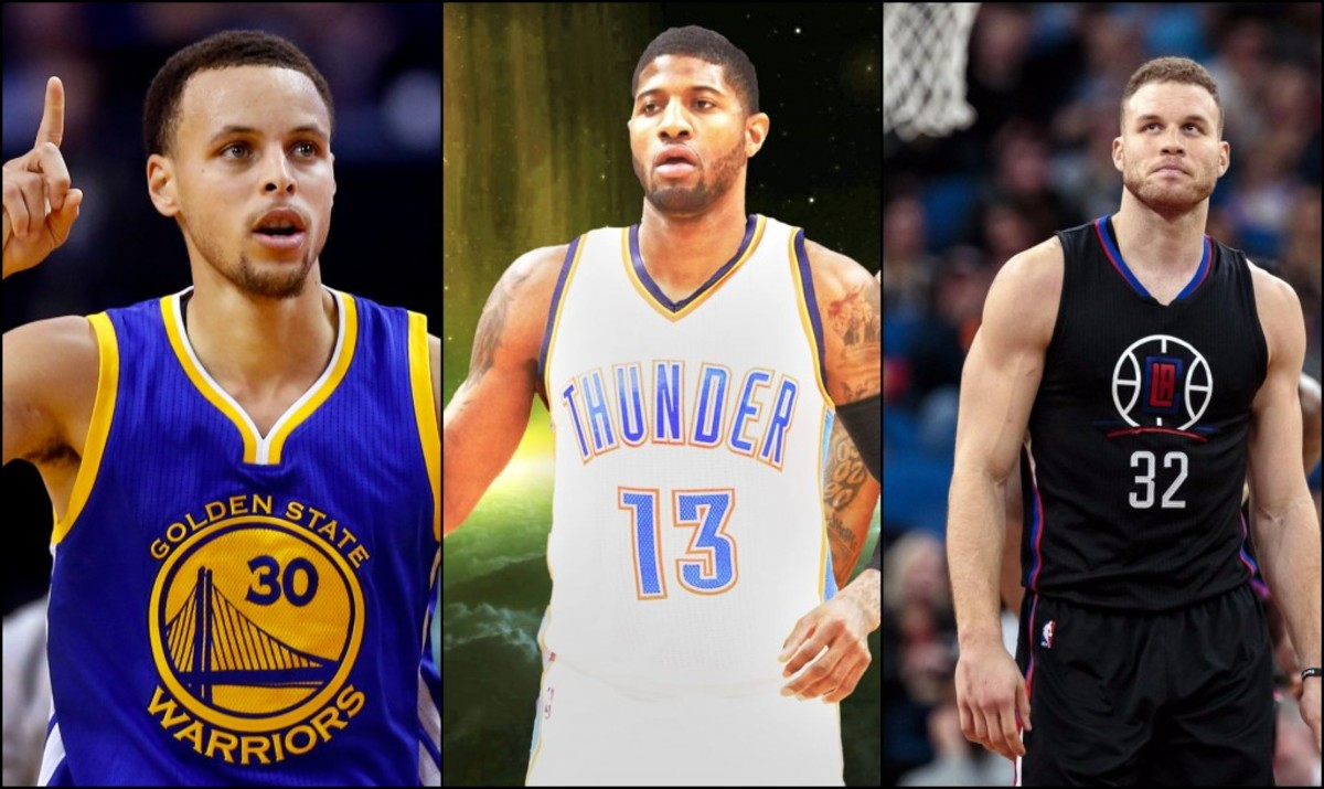 Grading 2017 Free Agency: Stephen Curry, Paul George, Blake Griffin And Others
