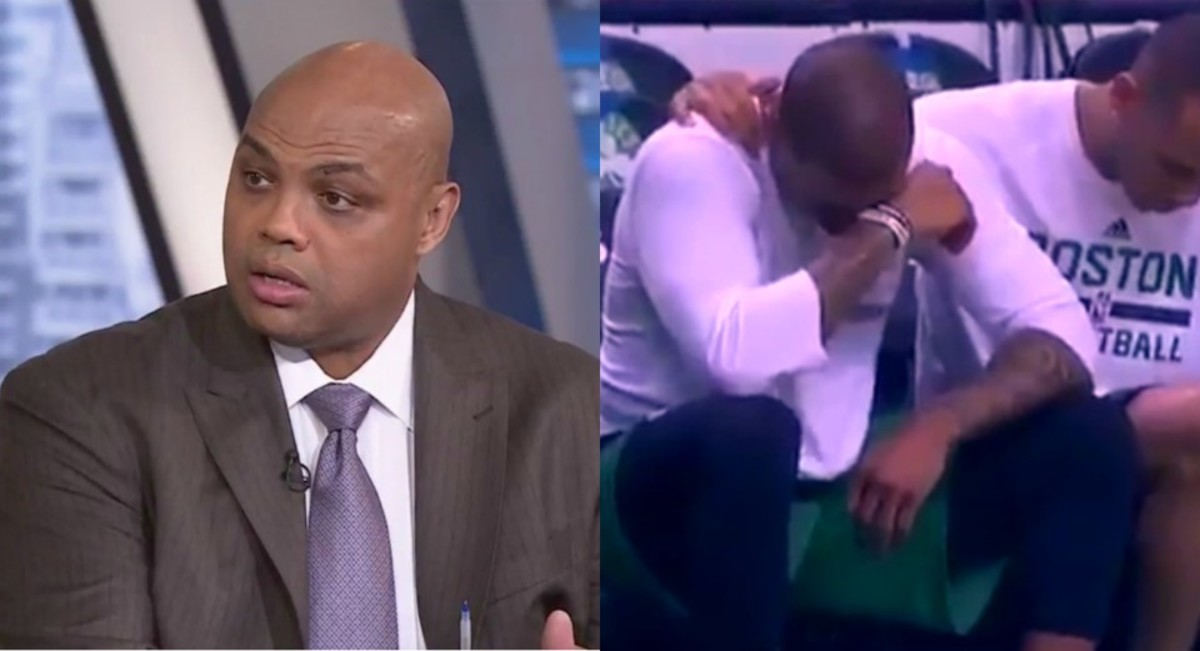 Charles Barkley feels 'uncomfortable' with Isaiah Thomas crying on court, day after sister's death