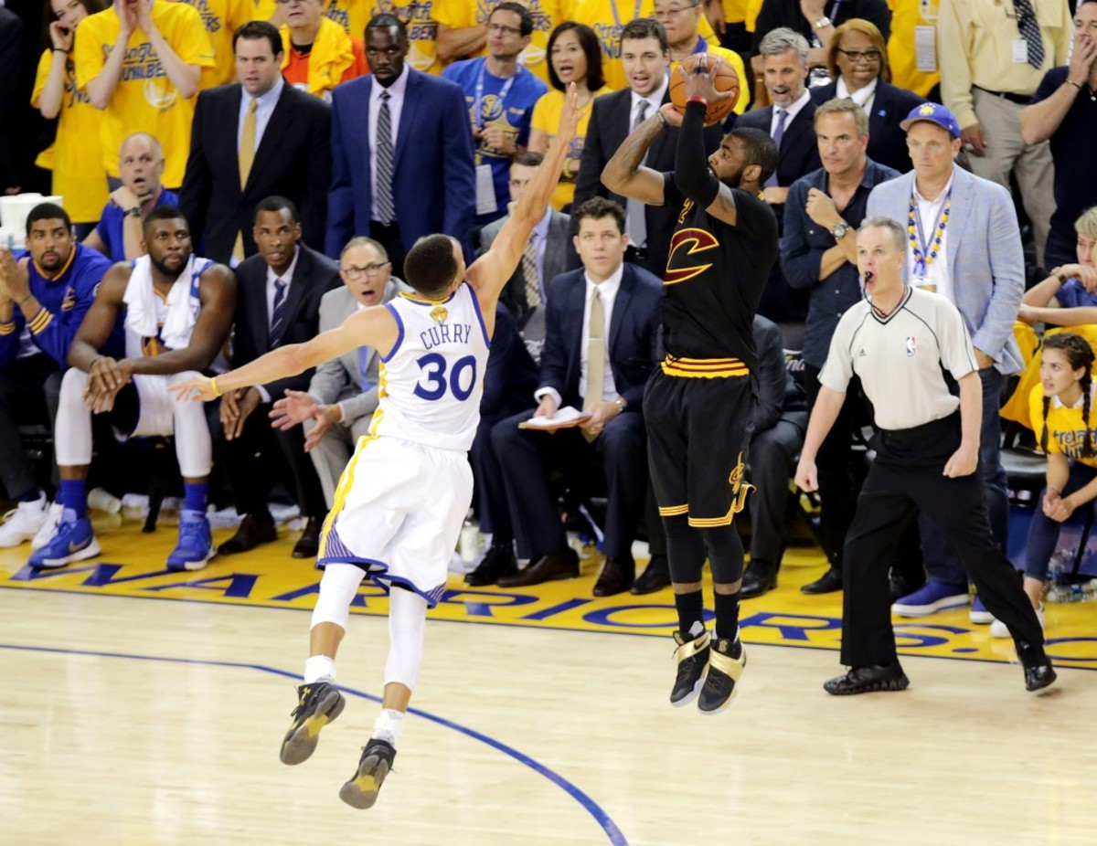 Kyrie Irving game 7 shot