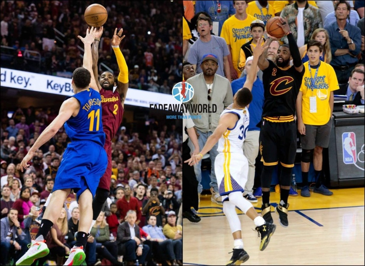 Kyrie Irving Clutch against the Warriors