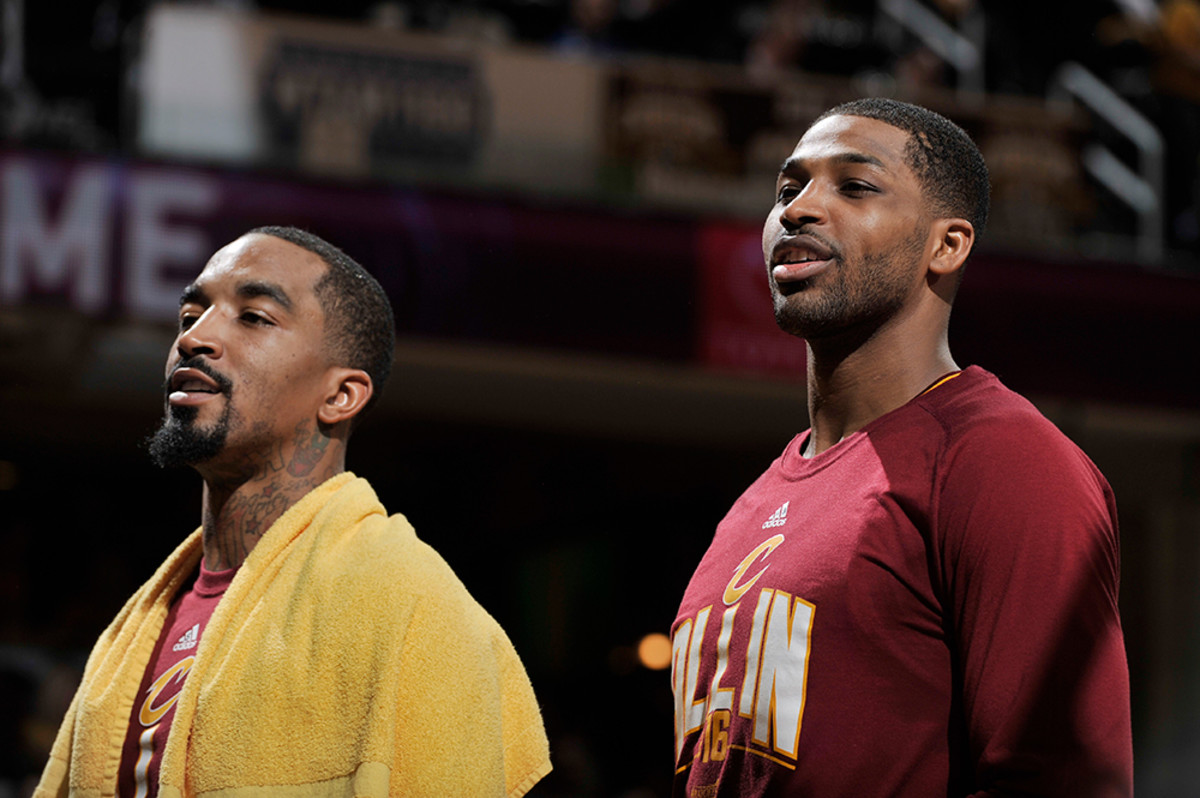 tristan thompson and jr smith